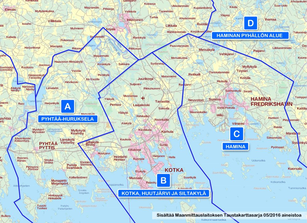 Ticket Products Kotka Region Timetables